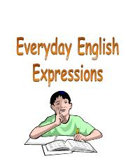 everyday english  expressions 2