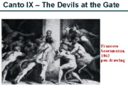 Canto IX - The Devils at the Gate