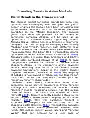 Branding Trends in Asian Market_Asian_Digital Brands in China.docx