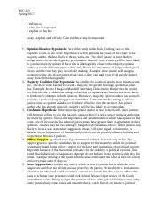 Final Exam Study Guide For Dr. Parent Law and Politics.docx