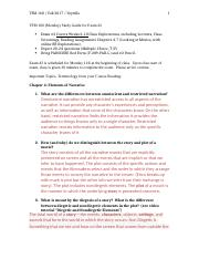 TFM 160-01 Study Guide for Exam 2 FA17.docx