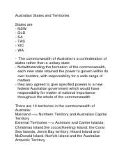 Australian States and Territories.docx