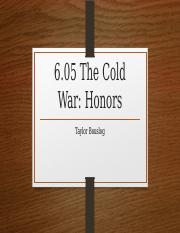 6.05 Cold War - Honors.pptx