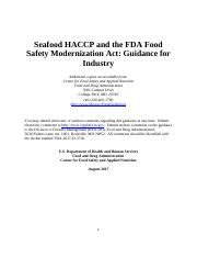 Seafood HACCP and the FDA Food Safety Modernization Act Guidance.pdf