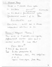 Math 667 Eloquent Theory Notes