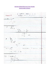 Intermediate AlGebra Solution Of Math Placement Test Samples