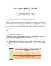IS102 Course Outline 2014