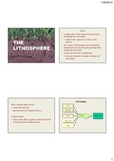 Lec 4 The Lithosphere [Compatibility Mode]