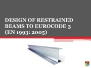 3 Design of Restrained Beams