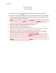Chapter 11 Questions Anatomy Physiolgy.docx