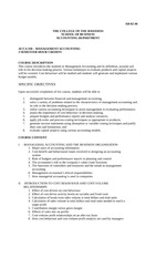 01. ACCA 310 Course Outline