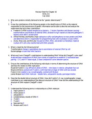Cell Bio - Ch16 Studyguide