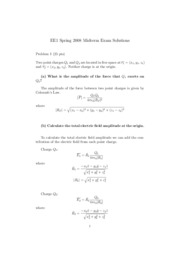 EE1 Midterm Solution