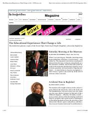ELP#3_The Educational Experiences That Change a Life.pdf