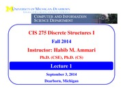 CIS275-Fall2014-Lecture1