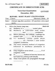 (www.entrance-exam.net)-IGNOU Certificate in Sericulture - Host Plant Cultivation Sample Paper 1.pdf