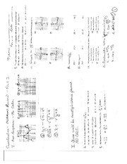 Midterm Review 1 and Answers