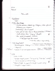 Psych 223 -emotion regulation therapy notes