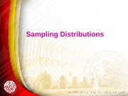 9.Sampling Distributions
