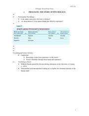 Prologue ppt notes