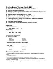 Chemistry S2 - Test 5 Study Guide.docx