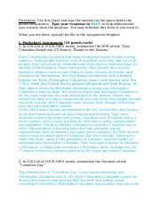 Module 1 Worksheet - Columbus Day(1) (1).docx