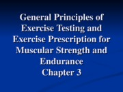 Mov 470 Ch 3 Muscle strength and endurance