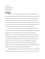 Western Civilization Final Assignment.docx