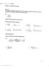 rational expressions practice sheet