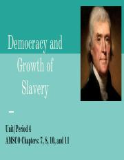 Unit 4A- Jeffersonian Democracy and Growth of Slavery.pdf