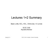 Lecture 1+2 Summary_v2