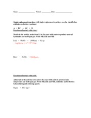 Single+replacement+reactions+worksheet (2)