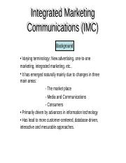 IntegratedMarketingCommunications(IMC)[1]