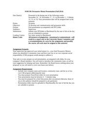 1 pages persuasive memo presentation directions