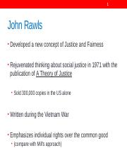 J 308 September 11 and 13, 2017 PowerPoint    John Rawls.pptx