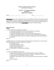 2017FIN 370 Exam 1A -Solutions(1)