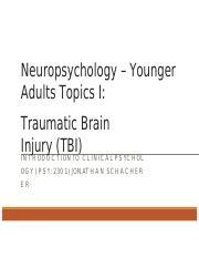 Neuropsychology - Younger Adults.pptx