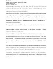 Global Political Economy Chapter 3 - Google Docs
