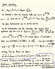 Homework D Solutions on Abstract Algebra