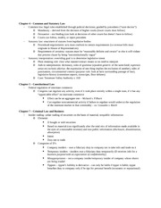 LEB323H Chapter 4-5-7 Exam Study Guide