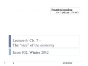 Econ+102+lecture+6%2C+1-24-12+-+The+size+of+the+economy copy