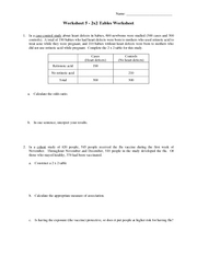 worksheet 5
