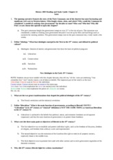 History 1003-Ch.22 Reading Guide