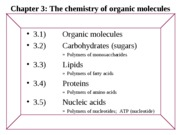 Chapter 3 - Chemistry of org.mol.%20s12