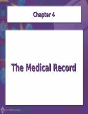 Chapter04-The Medical Record (1)