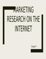Class 4 Marketing  Research