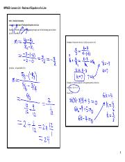 04 - Lesson 2.4 - Review of Equation of a Line (notes).pdf