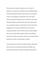 Essay on Oppression