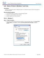 11.3.2.5 Lab - Share a Printer in Windows 7 and Vista.pdf