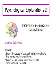 Psychological Explanations 2.ppt